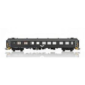 NMJ 202701 Personvagn SJ S11 507489-73715-9 Kino og Bistrovogn, svart