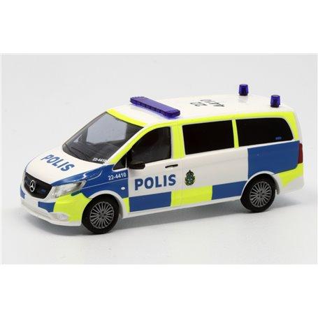 """Busch 51100-135 Mercedes Benz Vito """"Polis - 22 4410"""""""