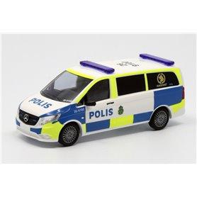 """Busch 51100-136 Mercedes Benz Vito """"Polis - Hundenhet - 26 9100"""""""