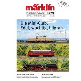 Märklin INS52020T Märklin Insider 05/2020, magasin från Märklin, 23 sidor Tyska