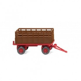 Wiking 38404 Agricultural trailer - fawn brown