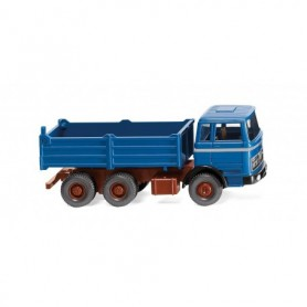 Wiking 67309 High-side tipper (MB) - azure blue