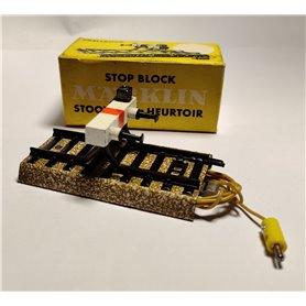 Märklin 7191.1 Stoppbock med belysning, 1 st, äldre typ