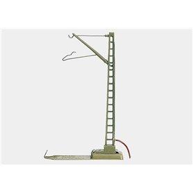 Märklin 7010 Anslutningsmast med kabel för strömförsörjning, höjd 100 mm
