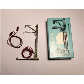 Märklin 7010.1 Anslutningsmast med kabel för strömförsörjning, höjd 100 mm, äldre typ