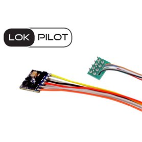 ESU 59820 LokPilot 5 micro DCC, 8-pin NEM652, gauge N, TT