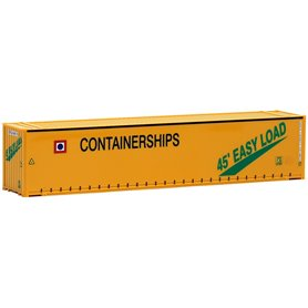 "Herpa Exclusive 491727 Container 45-fots Open Side ""Containerships"" (AWM)"""