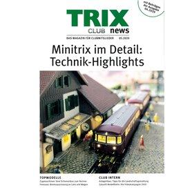 Trix CLUB52020 Trix Club 05/2020, magasin från Trix, 23 sidor i färg, Engelska