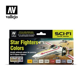 "Vallejo 71612 Paint Set ""Star Fighters"""