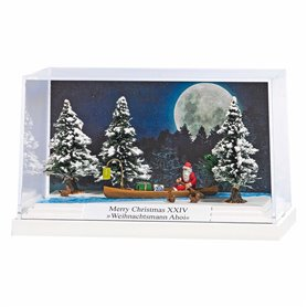 """Busch 7618 Litet diorama """"Merry Christmas XXIV"""""""