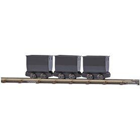 Busch 12260 3 Tipper wagons