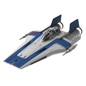 Revell 06762 Star Wars Build & Play Resistance A-Wing Fighter, Blue