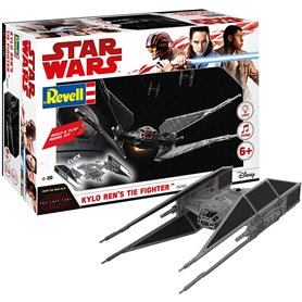 Revell 06760 Star Wars Star Build & Play Kylo Ren's Tie Fighter, With Lights & Sounds