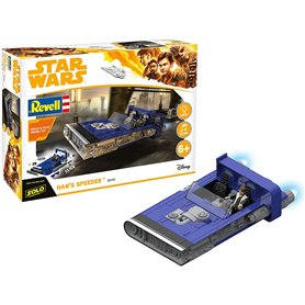 Revell 06769 Star Wars Build & Play Han´s Speeder
