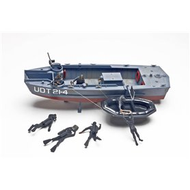 Revell 0313 U.D.T Boat with Frogmen