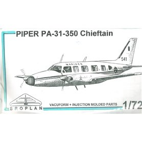 Broplan MS68 Flygplan Piper PA-31-350 Chieftain