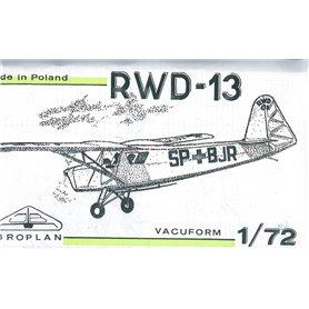 Broplan MS08 Flygplan RDW-13