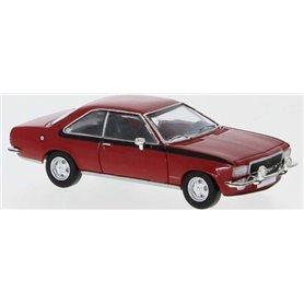 Brekina 870036 Opel Commodore B Coupé, röd, PCX