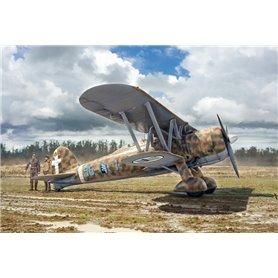 Italeri 2801 Flygplan FIAT CR.42 Falco