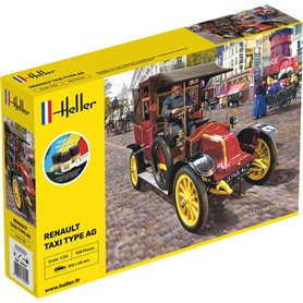 "Heller 35705 Renault Taxi Type AG ""Gift Set"""