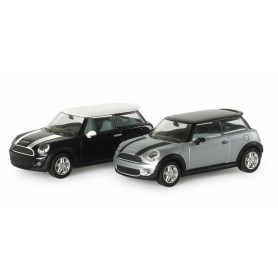 Herpa 033626 Mini Cooper S™, metallic