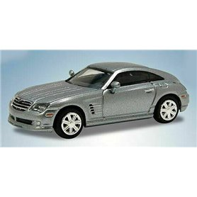 Ricko 38465 Chrysler Crossfire Coupe, silver, PC-Box
