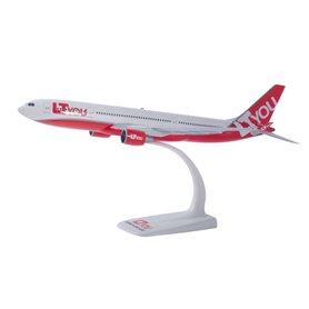 """Herpa Wings 612395 Flygplan Airbus A330-200 """"LTYou"""""""