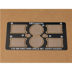 Tamiya 35167 1/35 Scale King Tiger Photo-Etched Grille Set