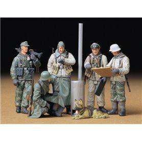 Tamiya 35212 Figurer German Soldiers at Field Briefing