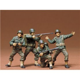 Tamiya 35013 Figurer U.S. Infantry