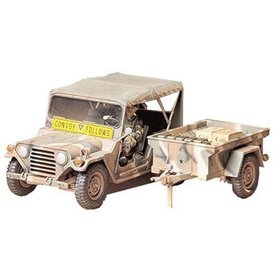 Tamiya 35130 Ford U.S. M151A2 Ford Mutt with M416 Cargo Trailer