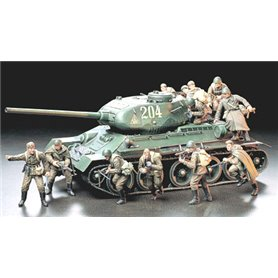 Tamiya 35207 Figurer Russian Army Assault Infantry