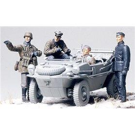 """Tamiya 35253 Figurer German Panzer Division """"Frontline Reconnaissance Team"""""""