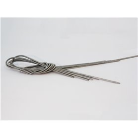 Wilesco 00827 Spiraler för ångmaskiner 2,5 mm x 500 mm, 5-pack