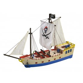 "Artesania 30509 Pirate Ship ""Build & Play"""