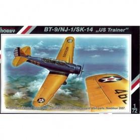 """Special Hobby 72069 Flygplan SK14 / NJ-1 / BT-9 """"US trainer"""", med svenska dekaler"""