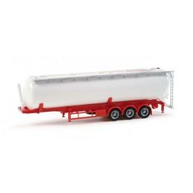 Herpa 075824 Silo trailer Feldbinder 60m³, white