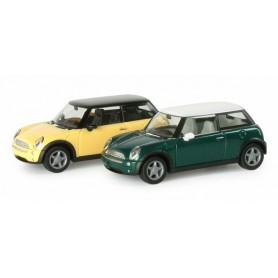 Herpa 033022 New Mini Cooper, metallic