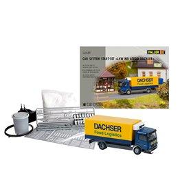 Faller 161489 Car System Start-Set MB Atego Lorry Dachser
