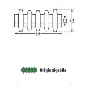 Sommerfeldt 850 Isolatorer, gröna, 24 st