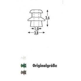 Sommerfeldt 205 Isolatorer, vita, 24 st