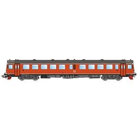 NMJ 93014DCC Dieselmotorvagn SJ Y1 1280, Oransje, DCC med ljud