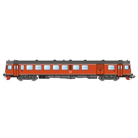 NMJ 93016DCC Dieselmotorvagn SJ YF1 1334, Oransje, DCC med ljud
