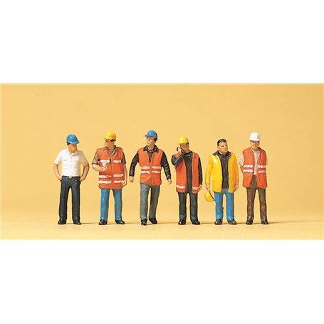 Preiser 10420 Arbetare med väst