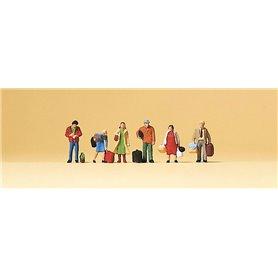 Preiser 79017 Väntande passagerare, 6 st