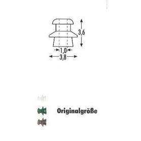 Sommerfeldt 305 Isolatorer, gröna, 24 st