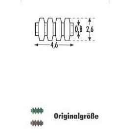 Sommerfeldt 505 Isolatorer, bruna, 20 st