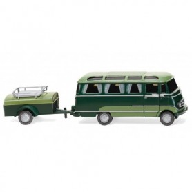 Wiking 26004 Panorama bus with trailer (MB O 319)