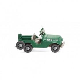 Wiking 01103 Jeep 'W & W Holzbau'