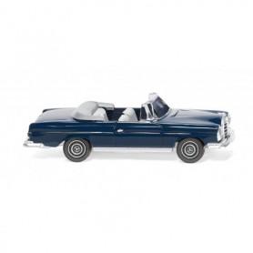 Wiking 15301 MB 280 SE Cabrio - steel blue